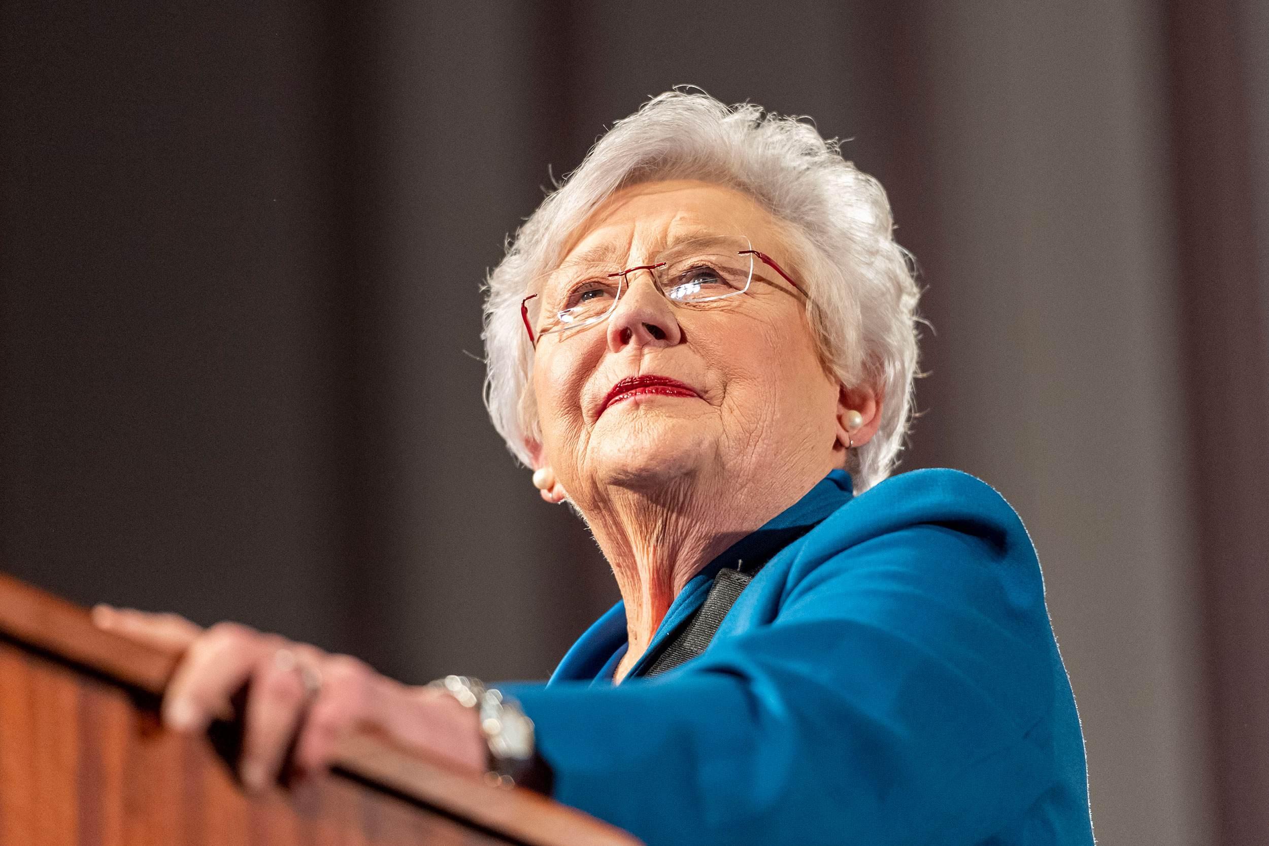 Governadora republicana do Alabama, Kay Ivey