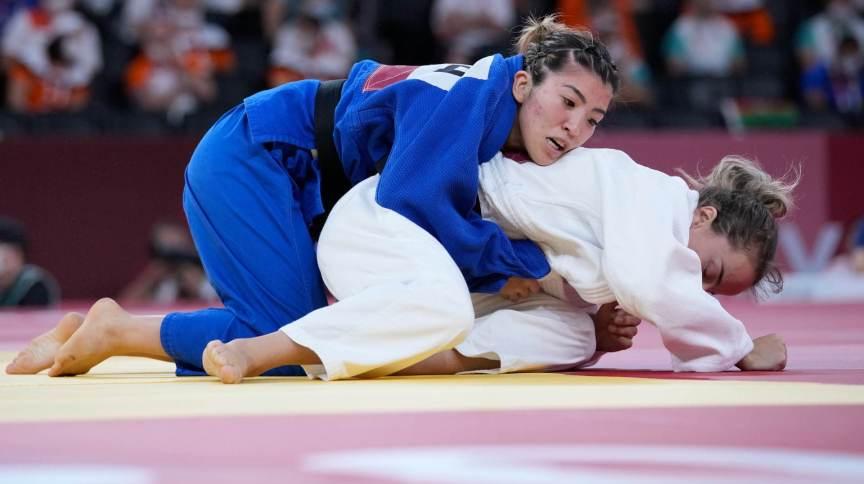 Gabriela Chibana acabou derrotada por Distria Krasniqi, do Kosovo