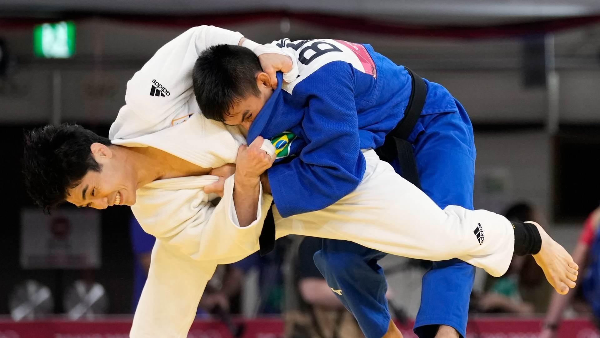 Brasileiro Eric Takabatake acabou eliminado pelo sul-coreano Won-jin