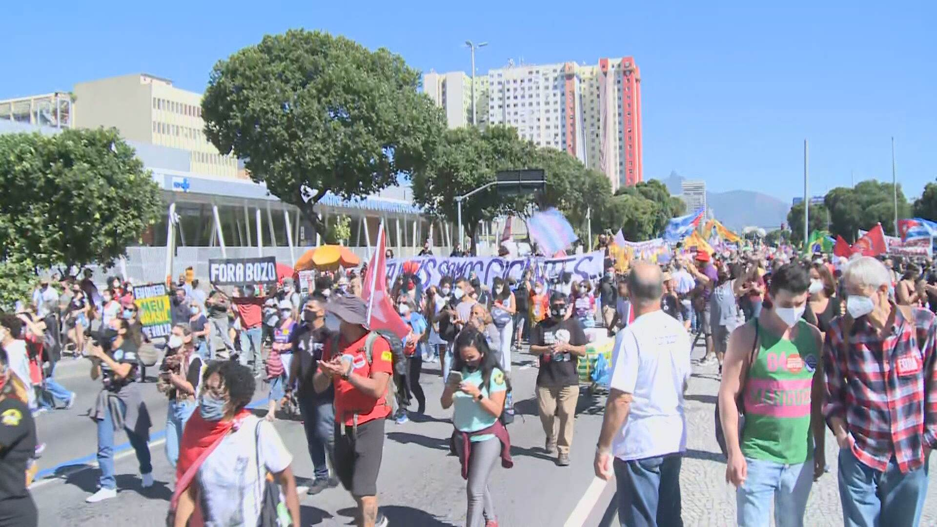 Manifestações no Rio de Janeiro (24-07-2021)