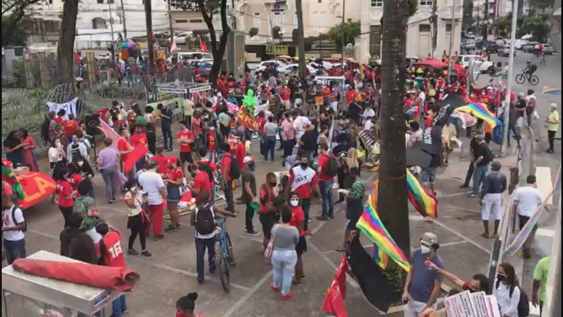 Manifestação em Salvador (24-07-2021)