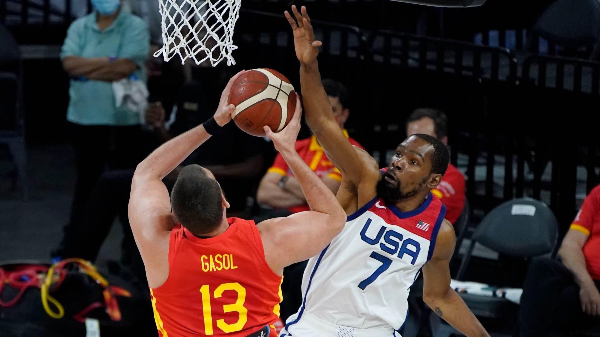 Espanha, de Marc Gasol, é séria candidata a incomodar Dream Team dos EUA em 2021