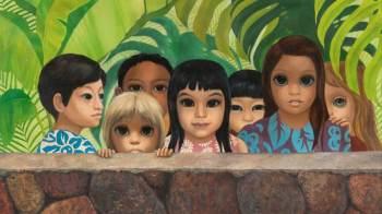 """Obra """"Eyes Upon You"""" foi vendida a uma família por uma galeria em Nova Jersey em 1980, que não sabia que o quadro estava desaparecido"""
