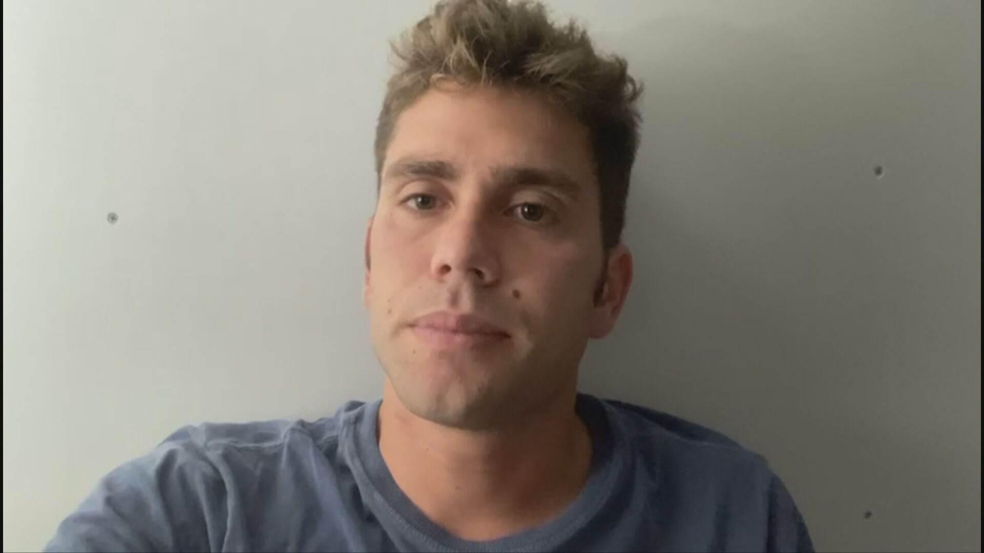 O cavaleiro João Oliva, filho da ex-jogadora Hortência (24.Jul.2021)