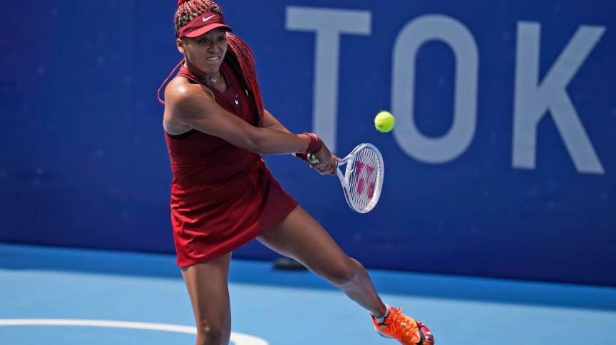 Naomi Osaka se disse revigorada após vitória na primeira rodada das Olimpíadas