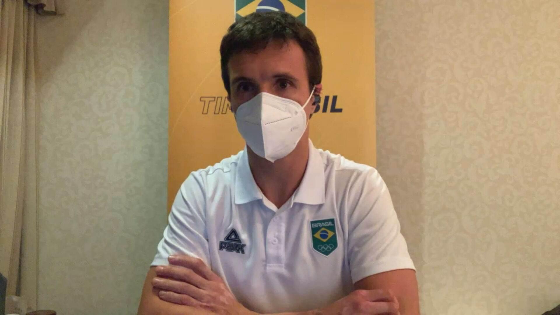 Paulo Puccinelli, médico do Time Brasil na Olimpíada de Tóquio (25. Jul.2021)