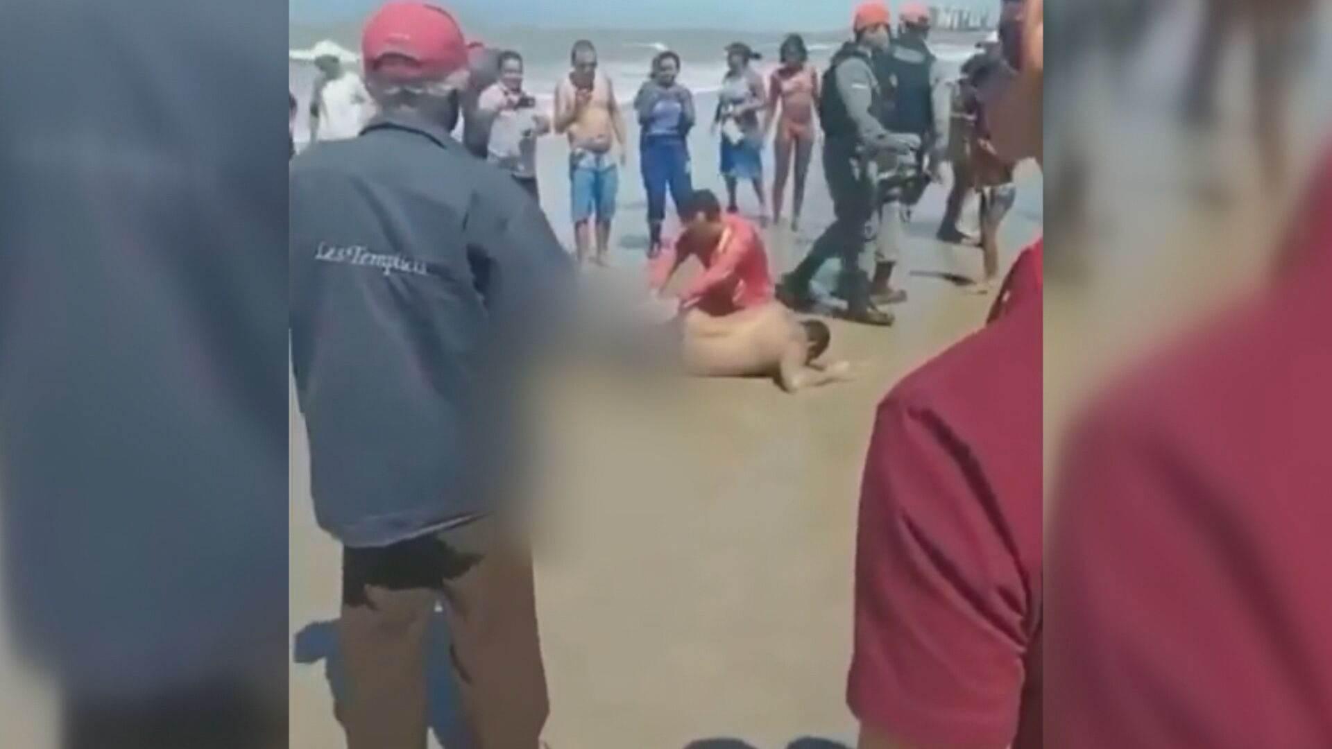 Homem é atacado por tubarão em Pernambuco (25.Jul.2021)