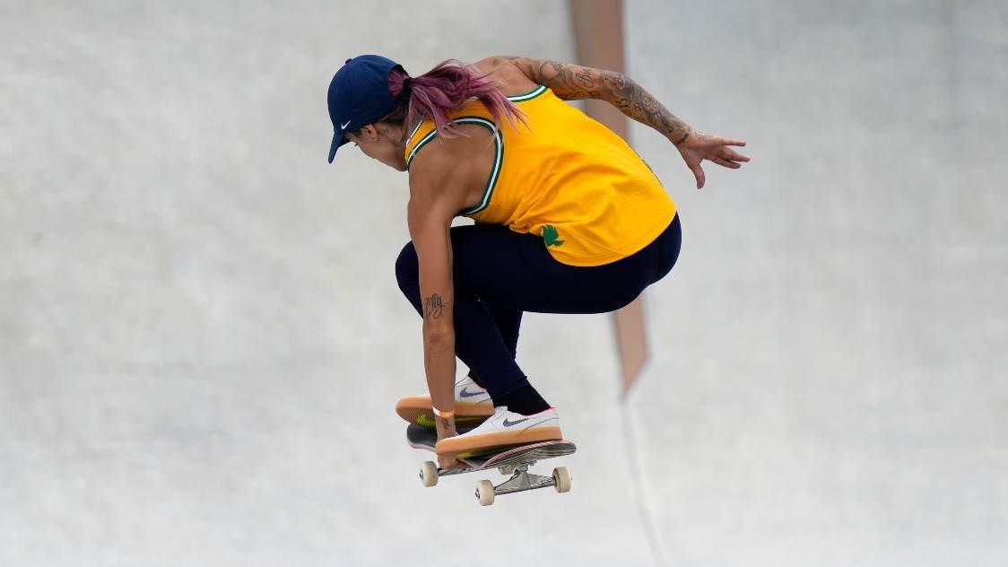 Leticia Bufoni, brasileira do skate nas Olimpíadas