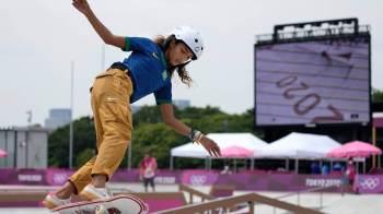 Apresentadora Elisa Veeck também anda de skate e comenta conquista da jovem esportista em Tóquio