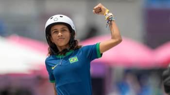 Maranhense conquistou a medalha de prata no skate street na madrugada desta segunda-feira (26) em Tóquio