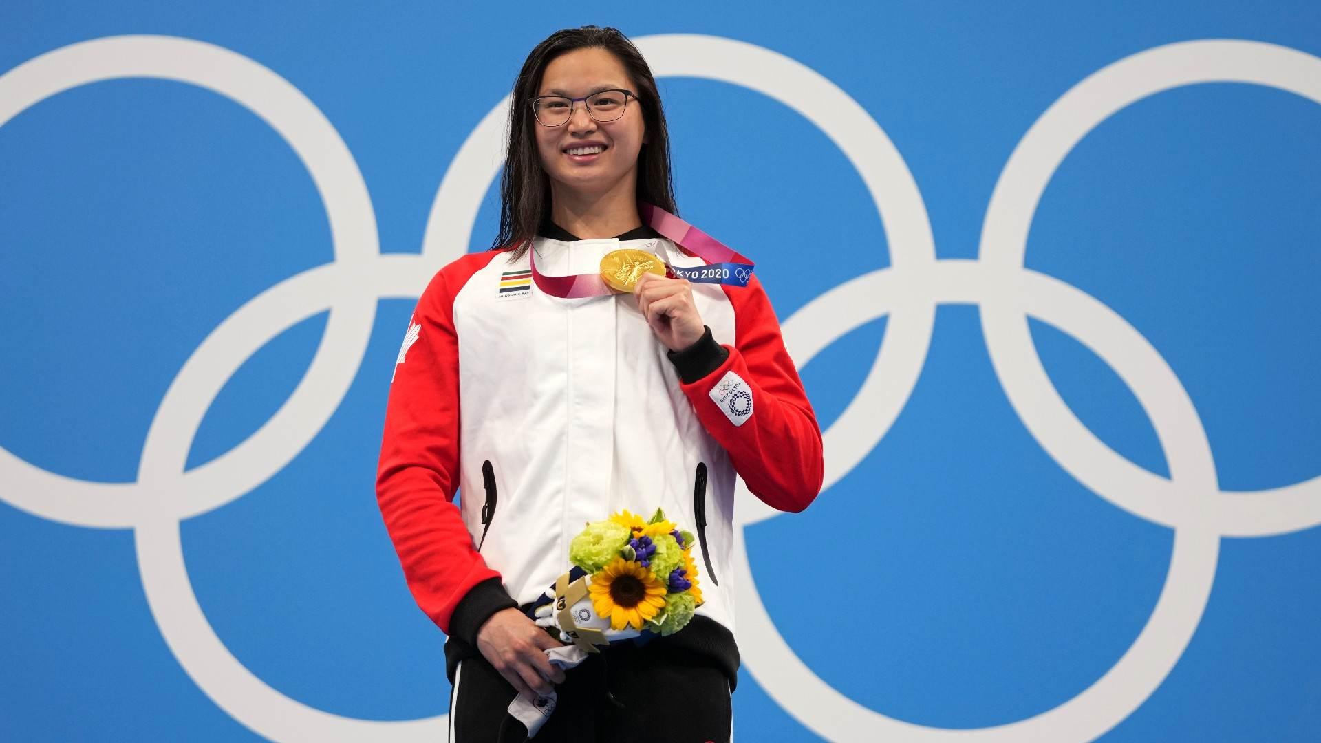 Margaret MacNeil, do Canadá, venceu o ouro olímpico nos 100 metros borboleta