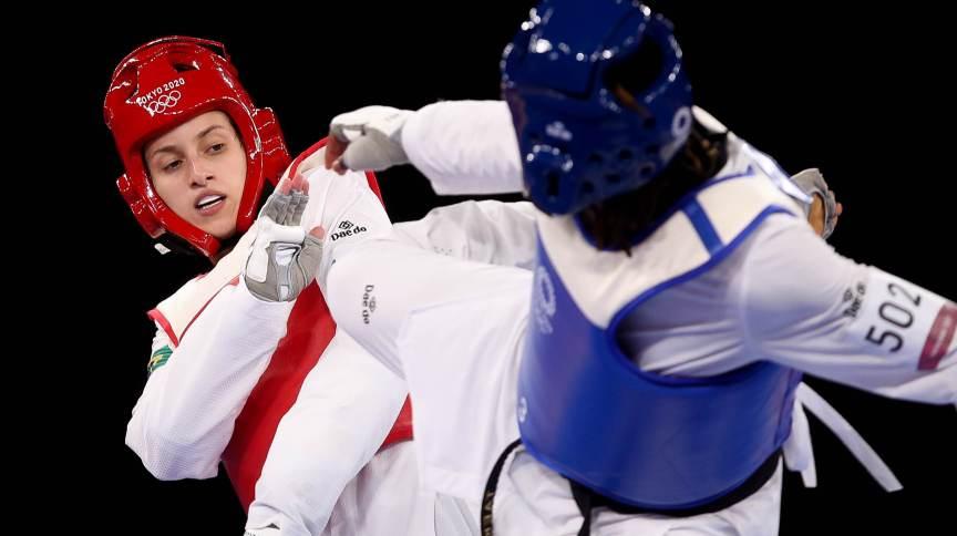 Milena Titoneli perdeu a disputa do bronze para a marfinense Ruth Gbagbi nas Olimpíadas