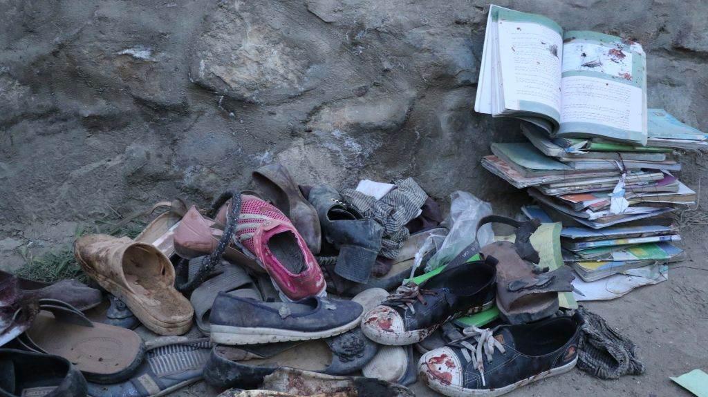 bombardeio afeganistão