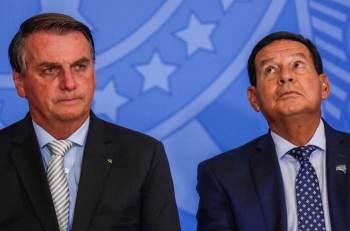 Bolsonaro e Mourão são acusados pelo Partido dos Trabalhadores (PT) de abuso de poder econômico e uso indevido dos meios de comunicação