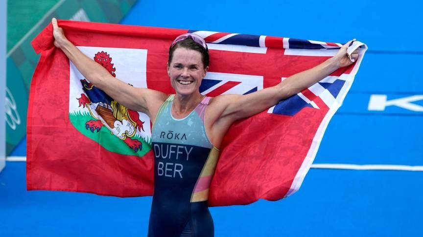 Flora Duffy fez história em seu país com a vitória em Tóquio