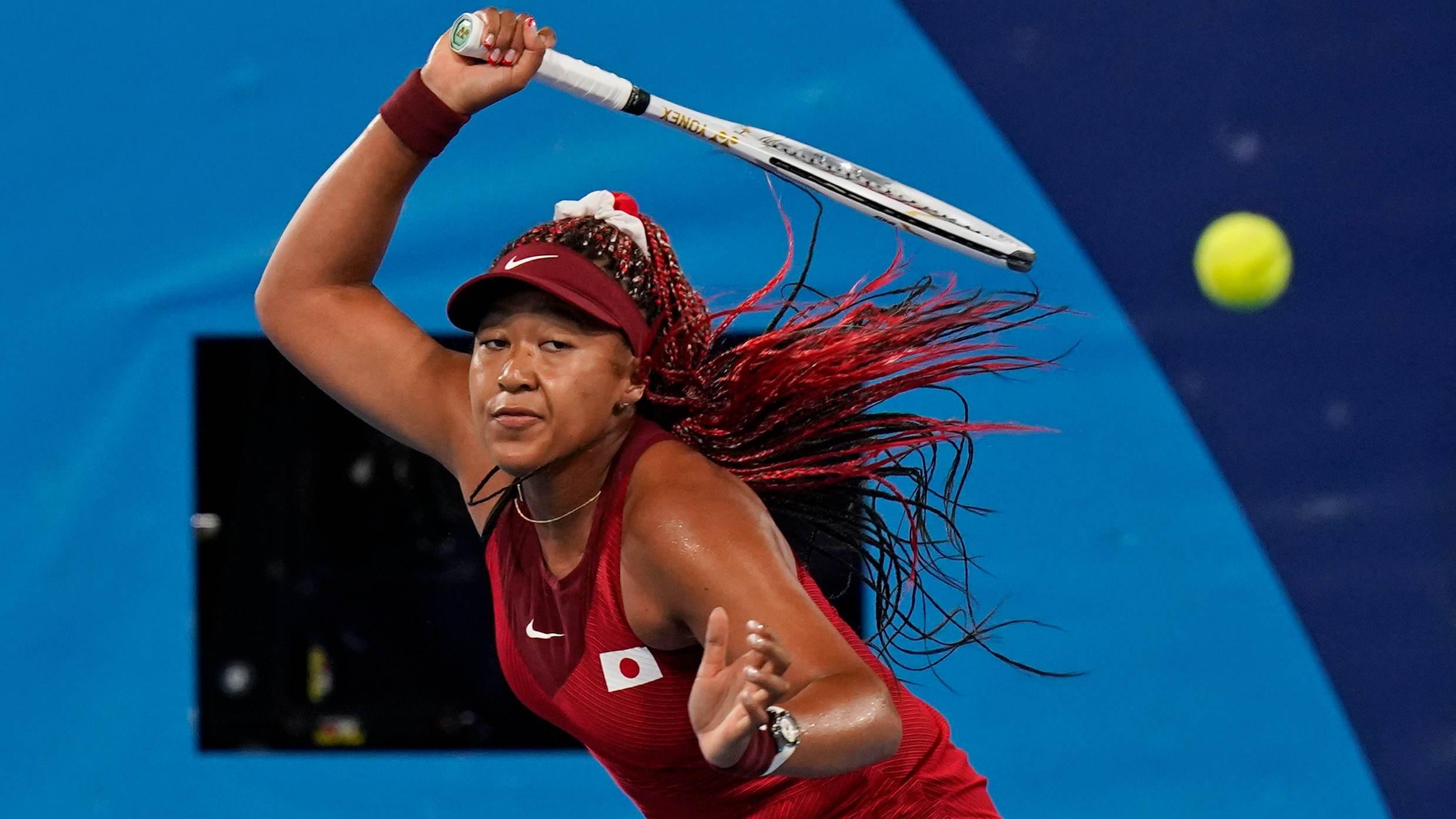Naomi Osaka foi eliminada na terceira rodada nas Olimpíadas