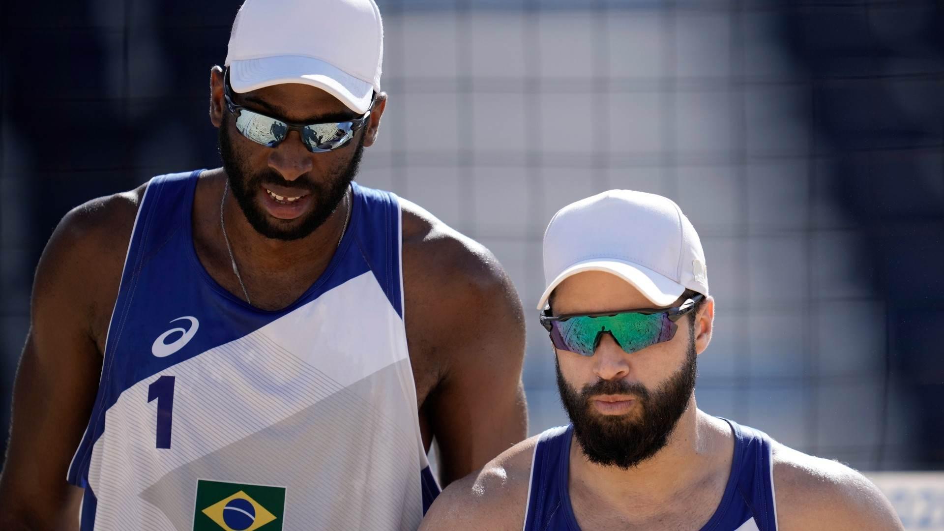 Brasileiros Evandro e Bruno Schmidt venceram os marroquinos
