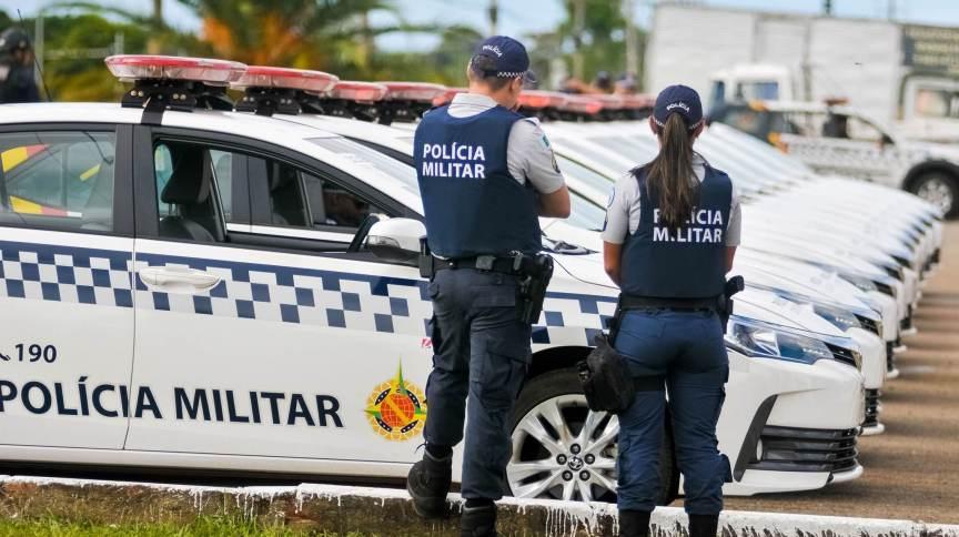 Policiais militares do Distrito Federal