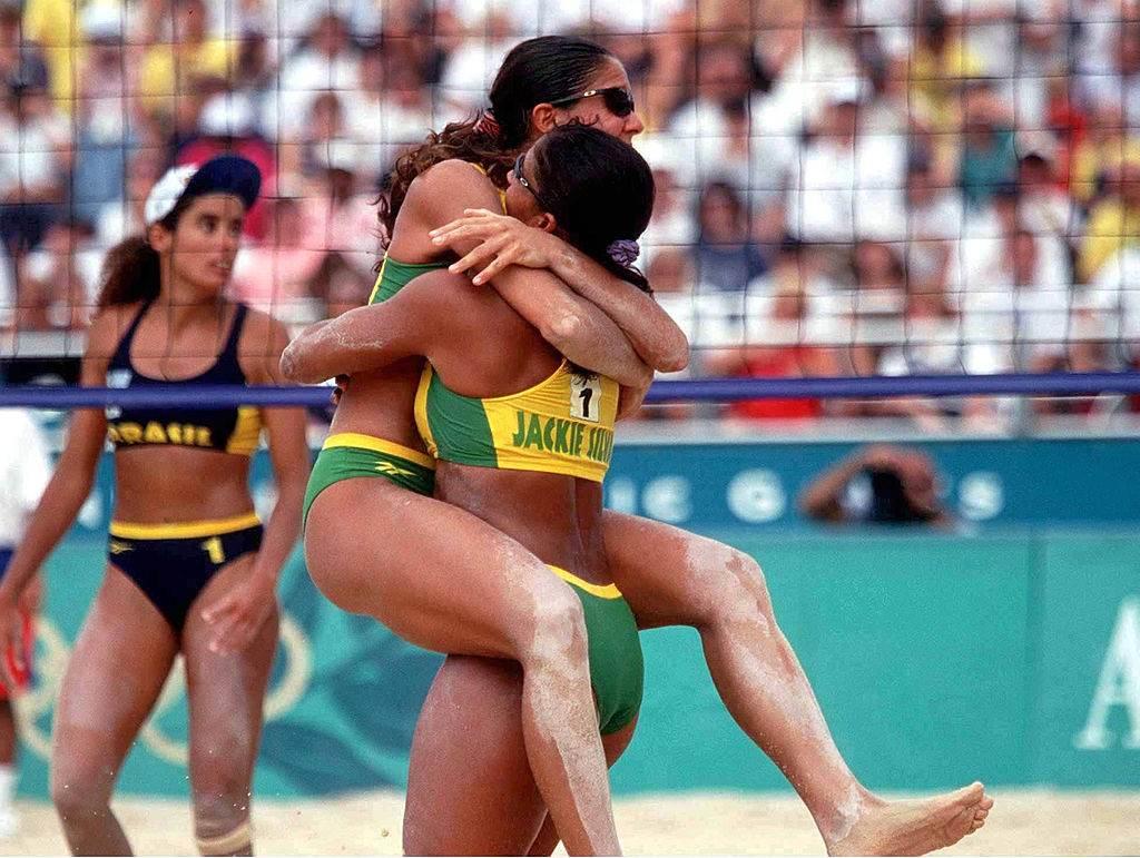 Jaqueline Silva e Sandra Pires em Atlanta
