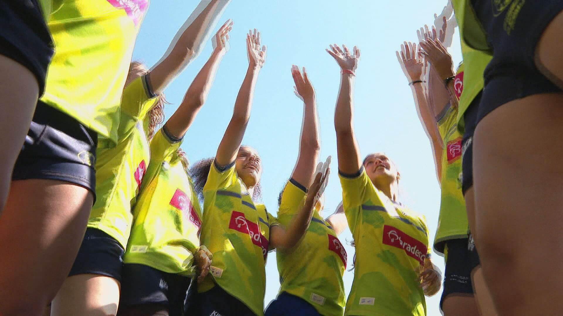 Seleção brasileira feminina de rugby (27.jul.2021)