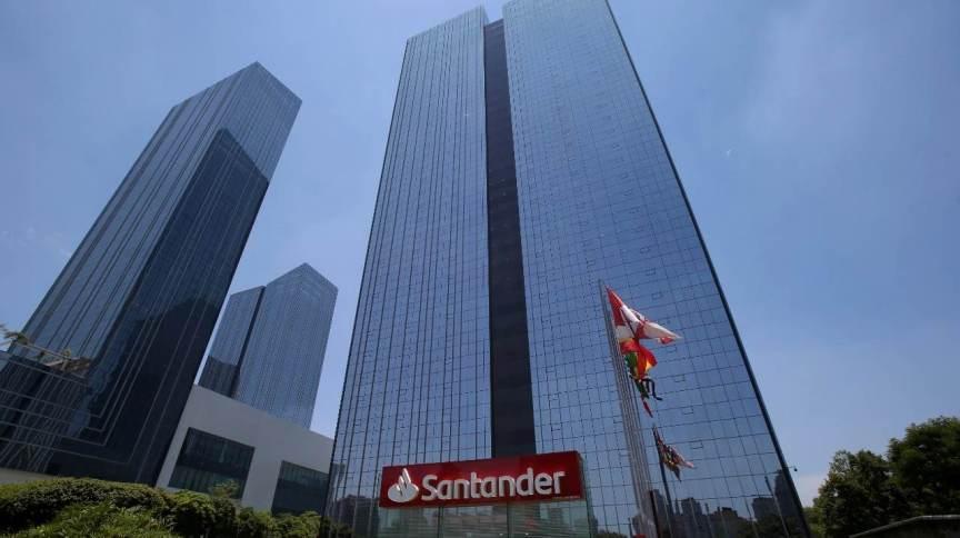 Edifício do Santander Brasil em São Paulo (SP) 09/01/2019