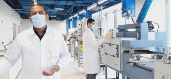 Testes feitos em parceria com o Senai buscam avaliar a eficácia antiviral de diferentes materiais