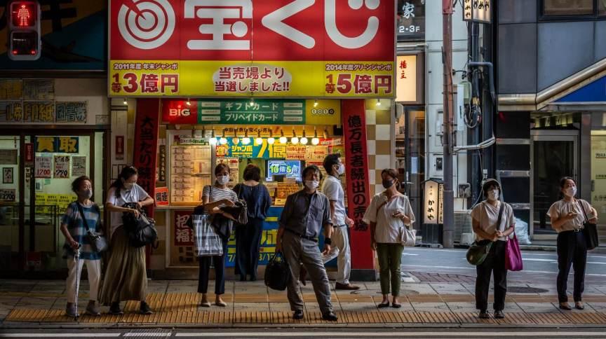 Tóquio registrou recorde de casos de Covid-19 pelo segundo dia seguido