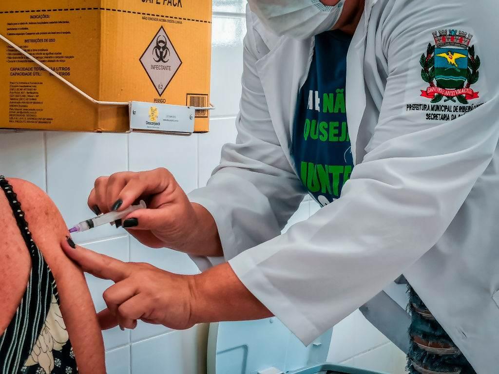 Vacinação no interior de São Paulo