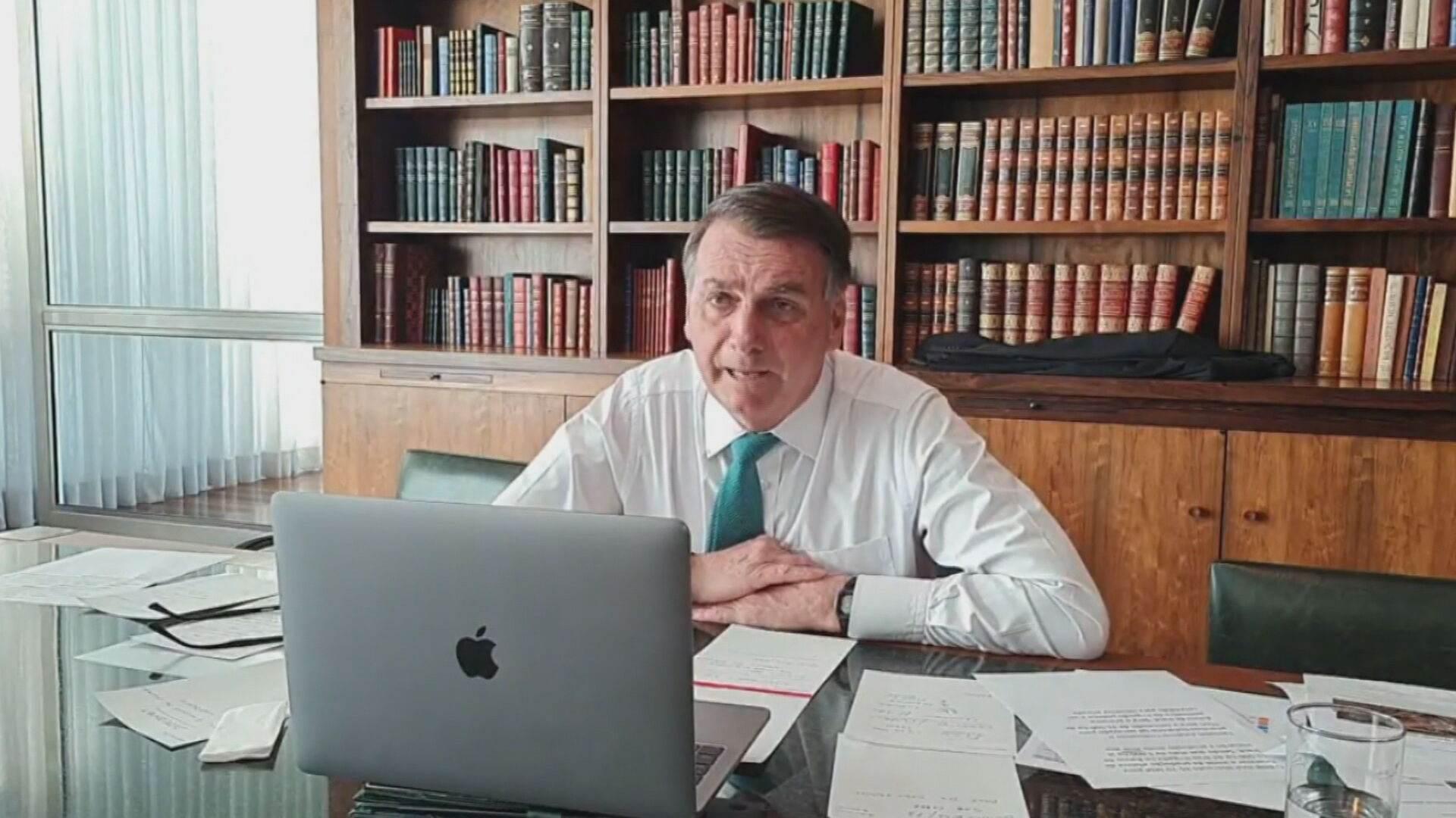 O presidente Jair Bolsonaro disse que está em contato com diversos partidos