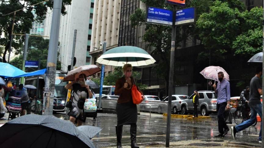 Baixas temperaturas são registradas no Rio de Janeiro