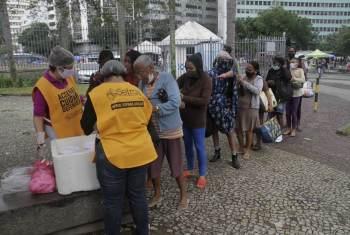 Na capital fluminense, somente no primeiro semestre deste ano, foram registrados 545.474 pedidos de auxílio à moradia, 26% a mais do que em 2020