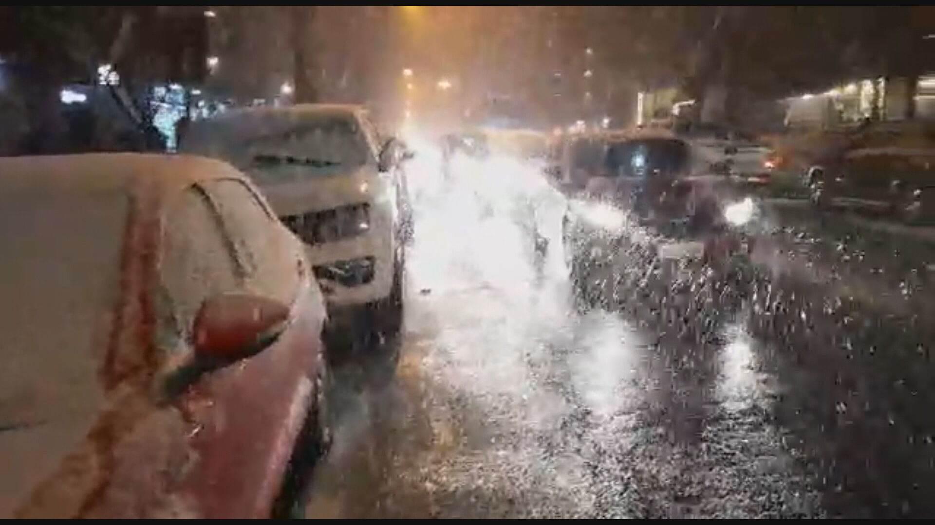 Neve em Gramado, no Rio Grande do Sul (28.jul.2021)