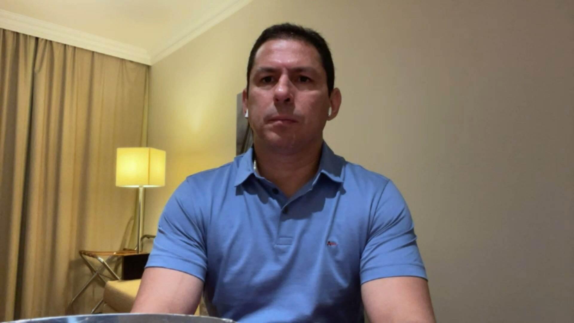 Deputado Marcelo Ramos (PL-AM) em entrevista à CNN