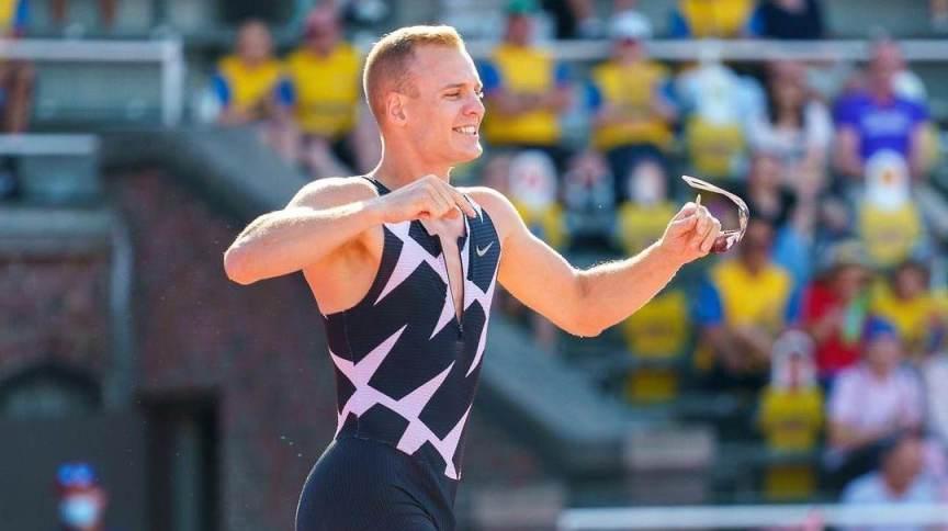 Sam Kendricks era favorito à medalha no salto com vara dos Jogos Olímpicos