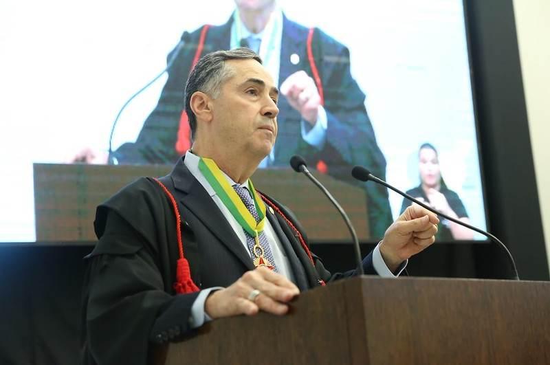 Presidente do TSE, ministro Luís Roberto Barroso