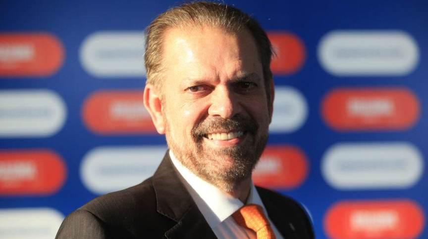 Reinaldo Carneiro Bastos, presidente da Federação Paulista de Futebol (FPF)