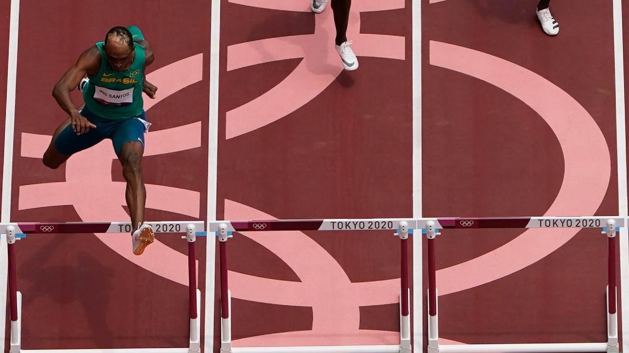 Brasileiro Alison dos Santos garantiu sua classificação para as semifinais
