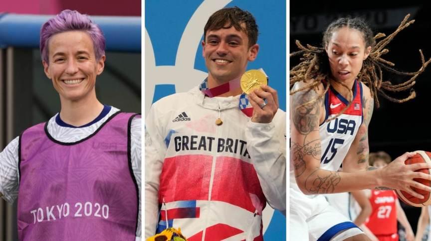 Megan Rapinoe, Thomas Daley e Brittney Griner, alguns dos atletas LGBTQIA+ que competem nas Olimpíadas de 2020