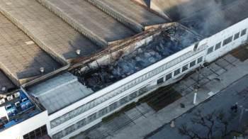 Galpão da Cinemateca Brasileira foi atingido por um incêndio, em São Paulo