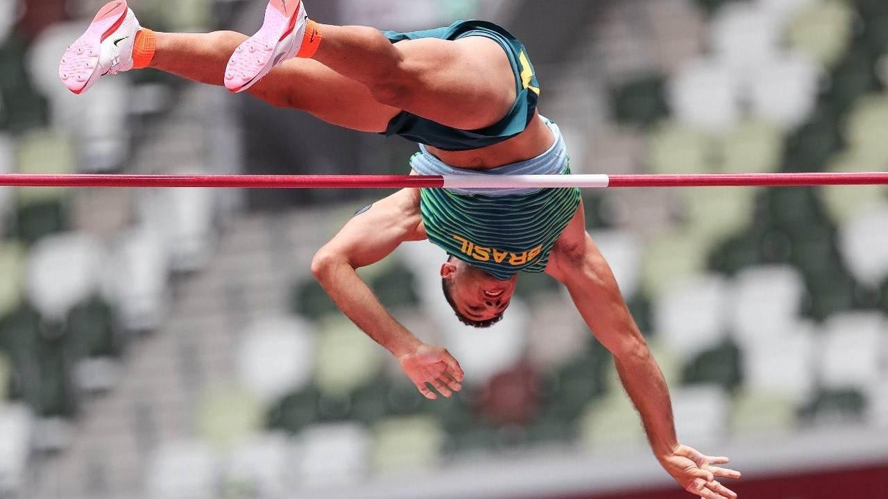 Thiago Braz foi à final do salto com vara nas Olimpíadas