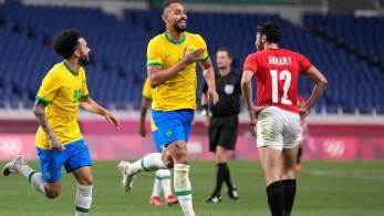 Resultado de 1 a 0, gol de Matheus Cunha – que saiu com dores musculares –, não foi ameaçado pela seleção africana