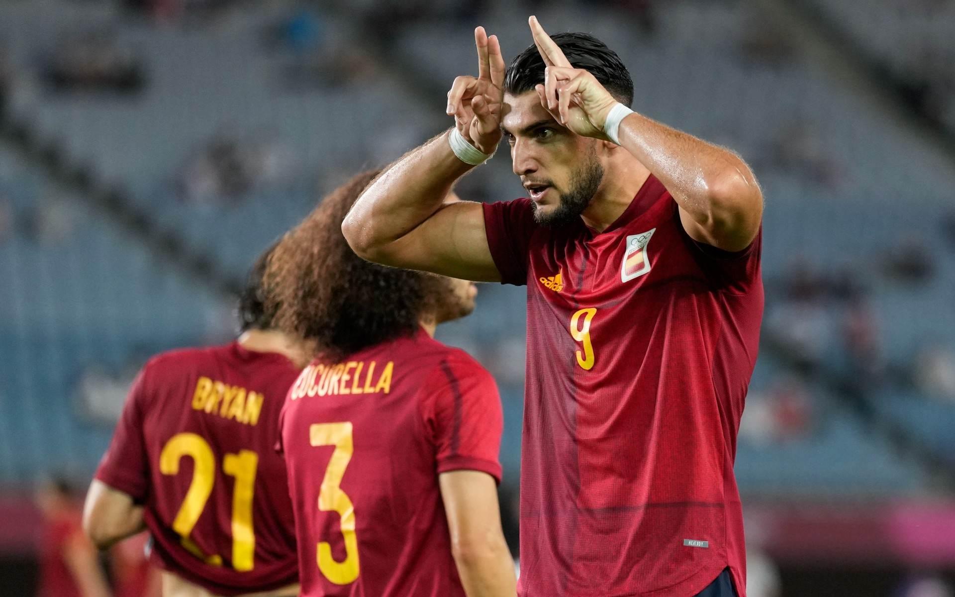 Herói da classificação espanhola, Rafa Mir fez 3 gols contra a Costa do Marfim