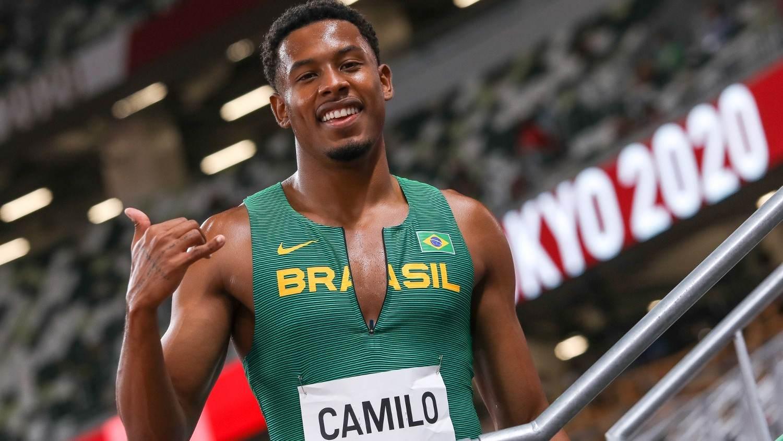 Velocista Paulo André avança para a semifinal dos 100m rasos em Tóquio