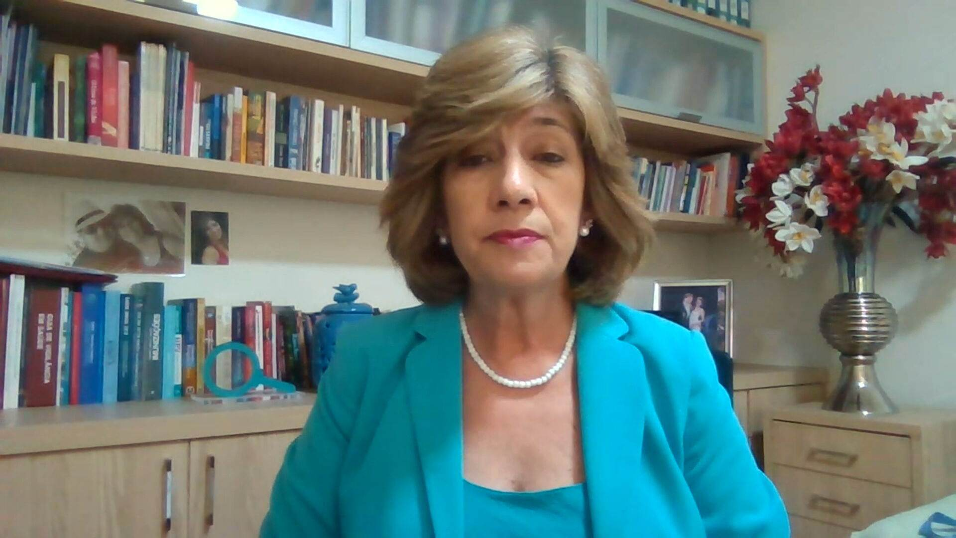 A epidemiologista Carla Domingues (31.Jul.2021)