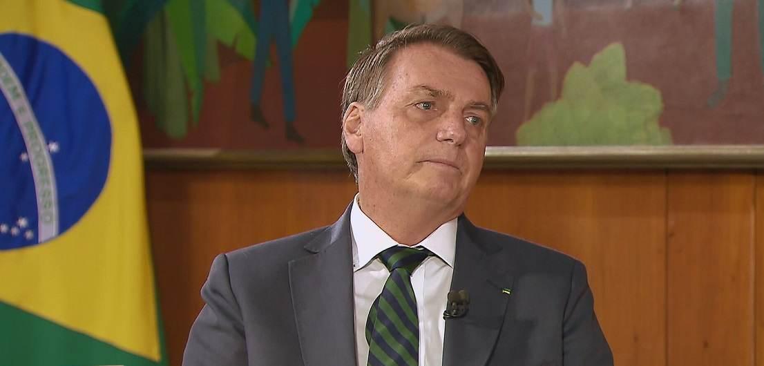 O presidente Jair Bolsonaro (sem partido) (31.Jul.2021)
