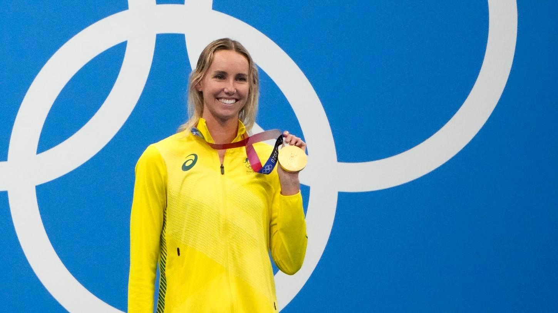 Emma McKeon, nadadora da Austrália, ouro nos 100m livre nos Jogos