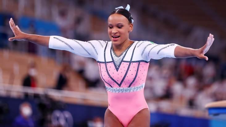 Rebeca Andrade é ouro no salto