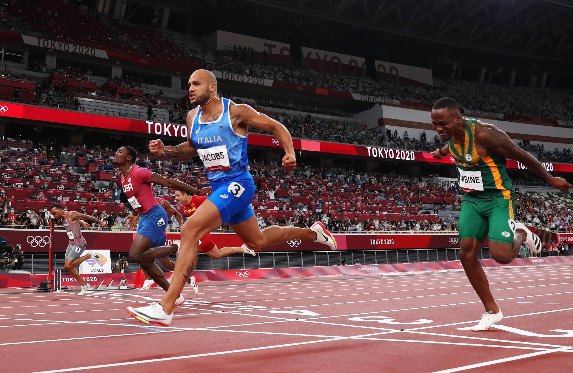 Italiano Marcell Jacobs venceu 100m rasos nas Olimpíadas de 2020