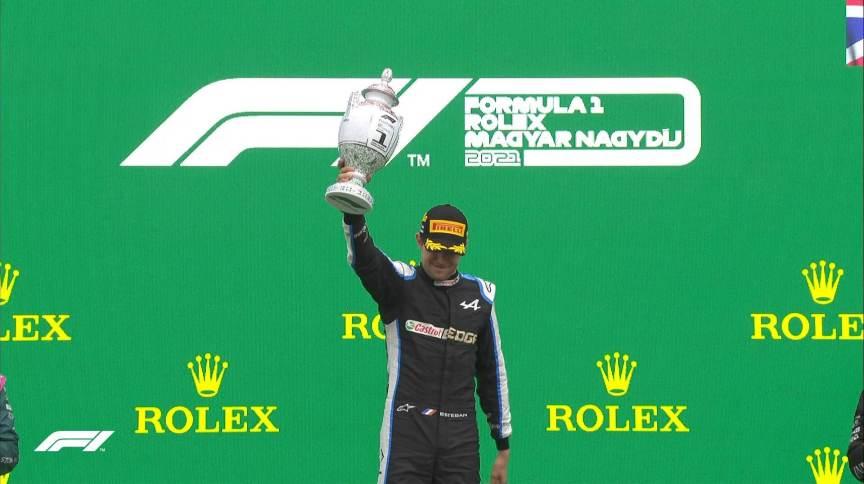 Esteban Ocon, da Alpine, faz história e vence a Fórmula 1 pela primeira vez