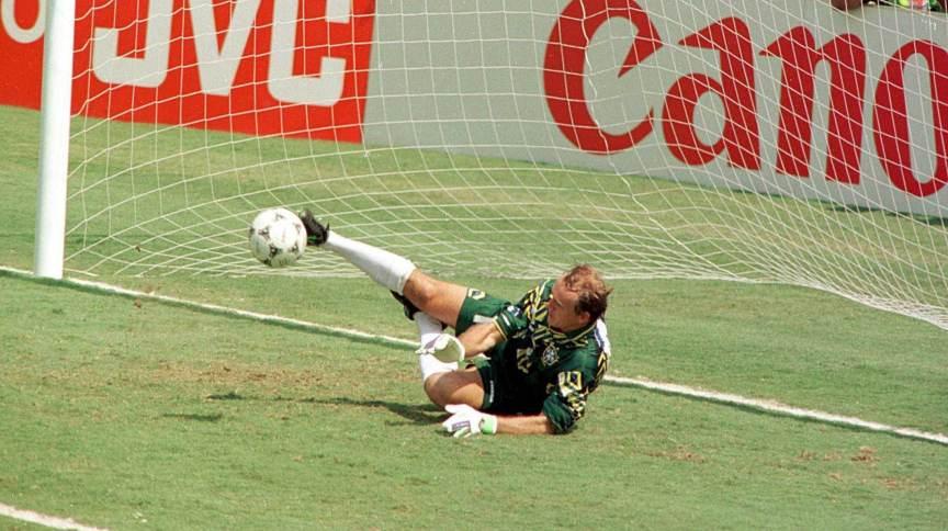Antes de se consagrar na Copa de 1994, Taffarel defendeu pênaltis nas Olimpíadas de Seul, em 1988